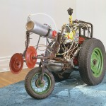 Remote controlled vehicle powered by methane, Troubles